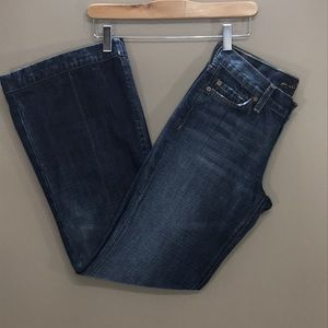 7 FOR ALL MANKIND Bootcut/Flare Jeans Size…